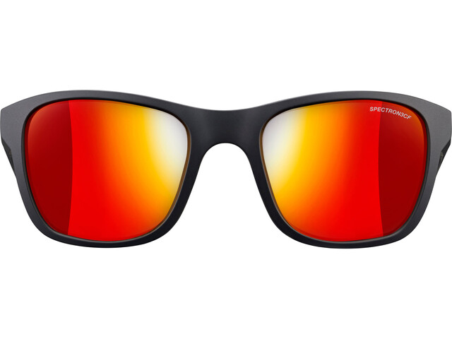 Julbo Reach Spectron 3CF Occhiali da sole 6-10 anni Bambino, matt black/multilayer red